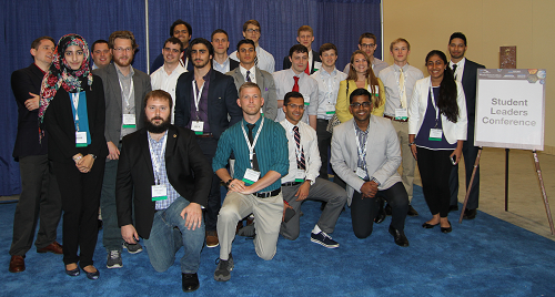 Student participants from the 2016 Student Leaders Conference