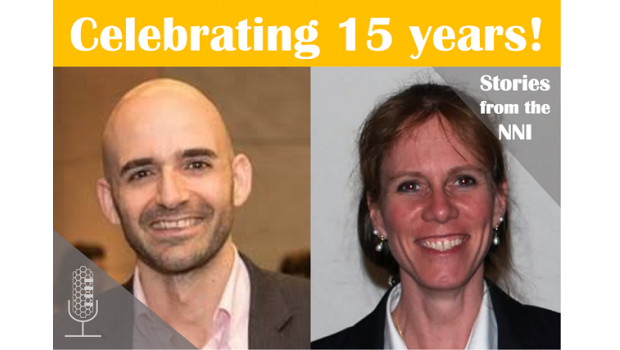 Celebrating the NNI with Tarek Fadel and Lisa Friedersdorf