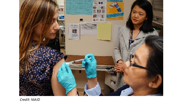 First-in-Human Trial of a Universal Influenza Vaccine Candidate