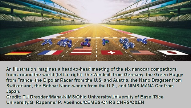 World's First Nanocar Race Crowns Champion