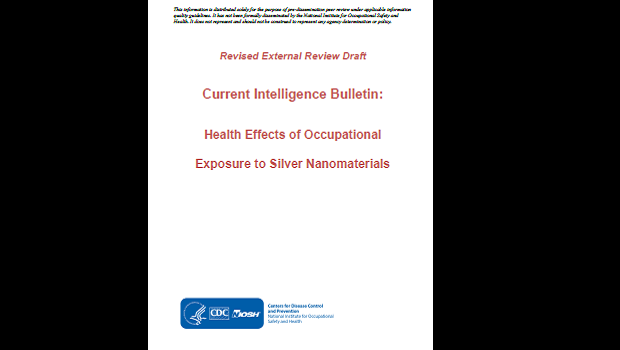 NIOSH Report: Study on the Health Effects of Occupational Exposure to Silver Nanoparticles