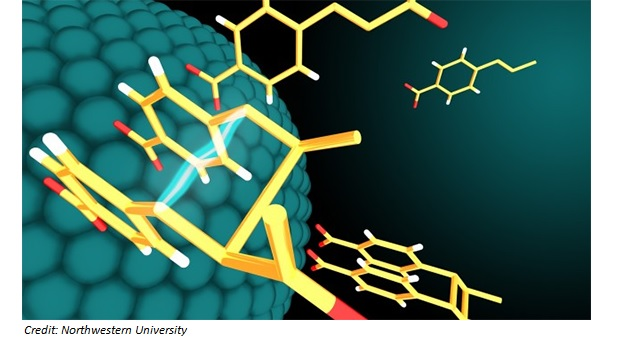 Visible light and nanoparticle catalysts produce bioactive molecules