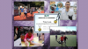 NND collage showing runners and scientists