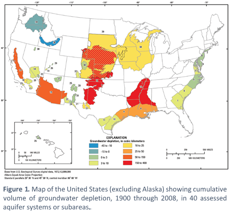 US water usage map